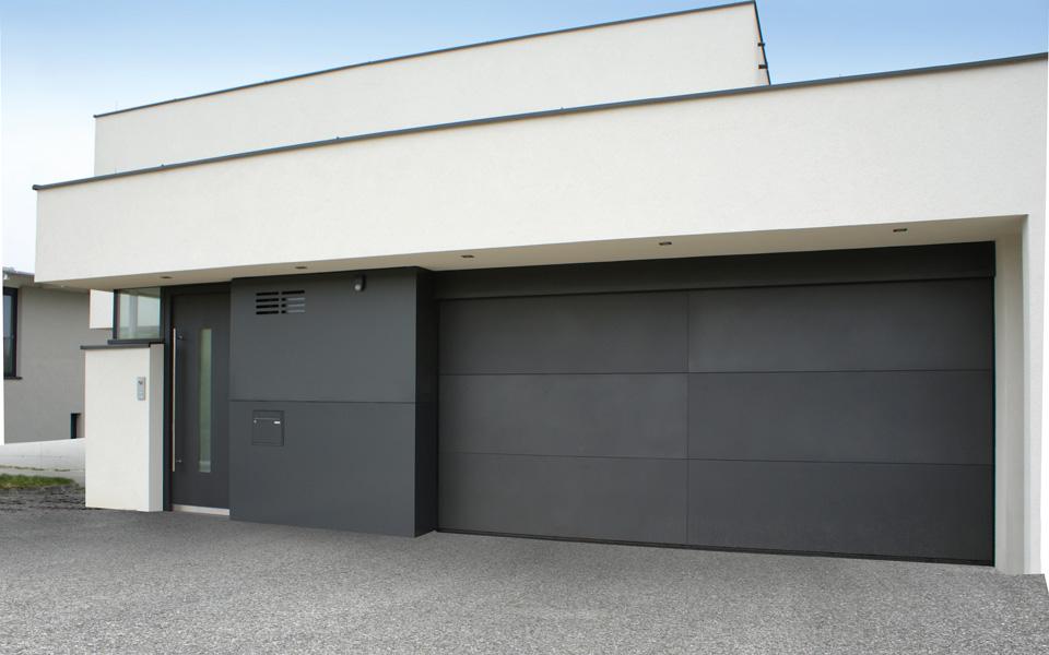 High Quality Garagentore Deckensektionaltore Ls4000 Modern Glatt Anthrazit 2
