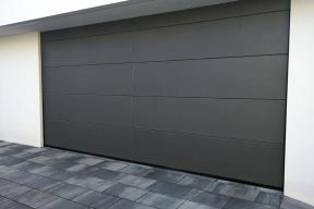 Garagentor Deckensektionaltore Aluminium LS4000 modern