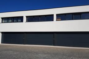 Garagentore Deckensektionaltore Aluminium LS4000 modern