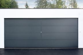 Garagentore Deckensektionaltore Aluminium LS4000 modern Motiv Basic