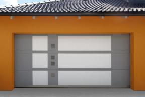 Garagentore Deckensektionaltore Aluminium LS4000 modern Motiv Luce200