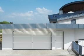 Garagentore Deckensektionaltore LS4000 Aluminium klassisch weiß