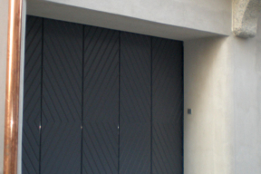 Garagentore Seitensektionaltore Aluminium LSS4000 klassisch grau