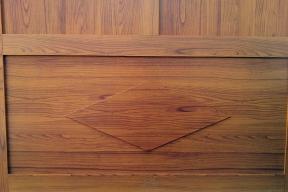 Garagentore Zweifluegeltore Aluminium klassisch Holzstruktur