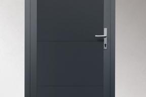 Garagentüren Paneeltüren TS4000 modern glatt anthrazit RAL7016