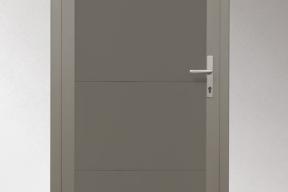 Garagentüren Paneeltüren TS4000 modern glatt grau RAL7039