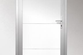 Garagentüren Paneeltüren TS4000 modern glatt weiß RAL9016
