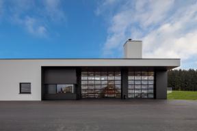 Industrietore Sektionaltore Aluminium DSTR60 modern