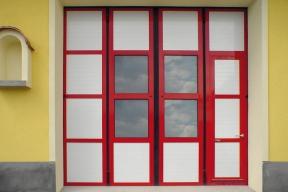 Industrietore Falttore Aluminium AL601F Feuerwehrtore