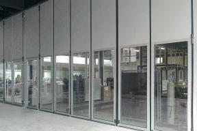 Industrietore Falttore Aluminium AL603F thermisch getrennt für Unternehmen