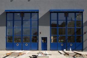 Industrietore Falttore ST602F für Bahn und öffentlichen Bereich