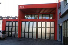 Industrietore Falttore ST602F für Feuerwehr
