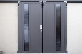 Industrietore Schiebetore Aluminium AL602S Privat