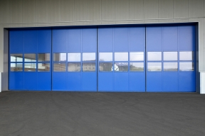 Industrietore Schiebetore Aluminium AL602S Unternehmen