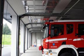 Industrietore Sektionaltore Aluminium DSTR40 Feuerwehrtore