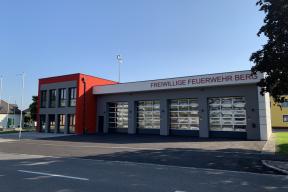 Industrietore Sektionaltore Aluminium DSTR60 modern für Feuerwehr