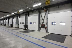 Industrietore Sektionaltore Stahl Paneel DSTS60 Unternehmen