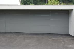 Garagentor Deckensektionaltor LS4000 für Verkleidung gerichtet