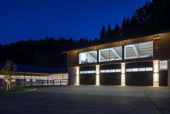 Industrietore Sektionaltor Aluminium DSTS40 Anwesen/Unternehmen