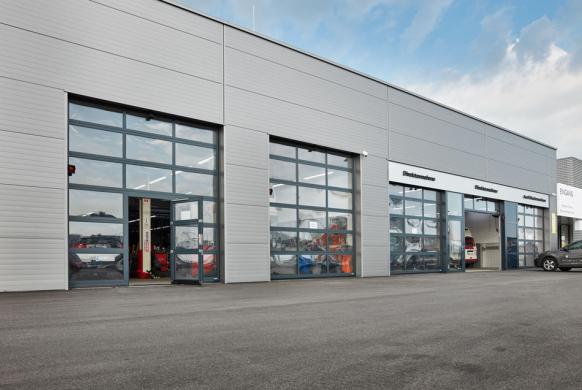 Industrietore Sektionaltor Aluminium DSTR40 Unternehmen