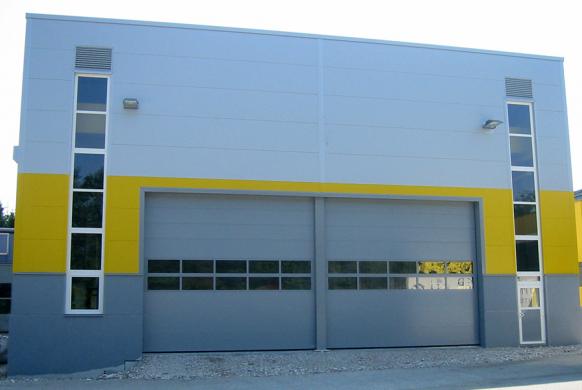 Industrietore Sektionaltore Stahl Paneel DSTS40 Unternehmen