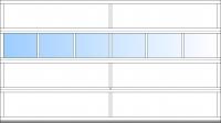 ab BB 4500mm 6 Fensterfelder; ab BH 2375mm 4 Sektionen