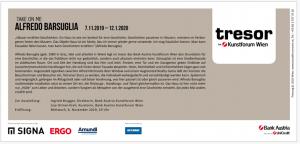 TOR-Ausstellung von Alfredo Barsuglia / Kunstforum Wien