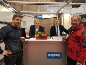 Vertriebspartner Fa. Hacker am LINDPOINTNER Messestand