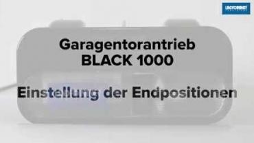 BLACK 1000 | Endpositionen AUF/ZU und Lernfahrten