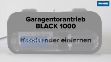 BLACK 1000 | Handsender einlernen