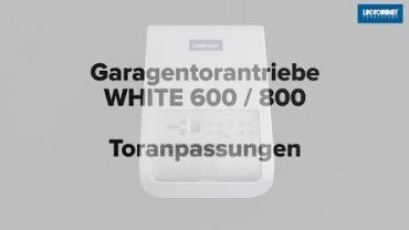 WHITE 600/800 | Auswahl Tortyp