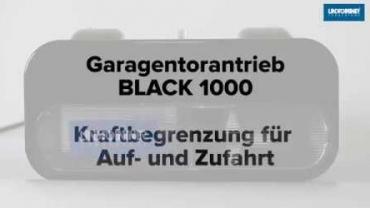 BLACK 1000 | Kraftbegrenzung AUF/ZU